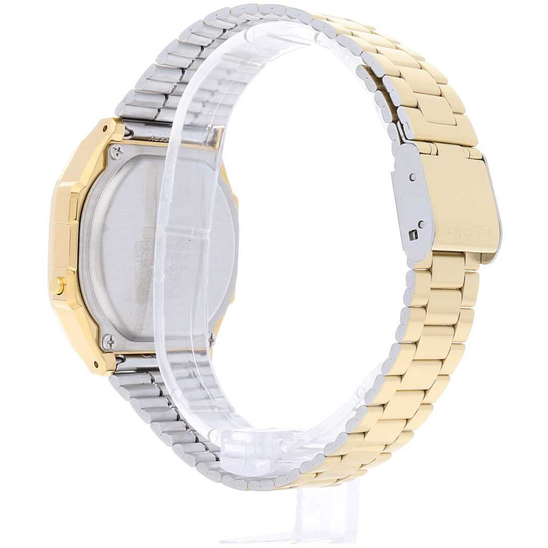 offres montres unisex Casio A168WEGC-3EF