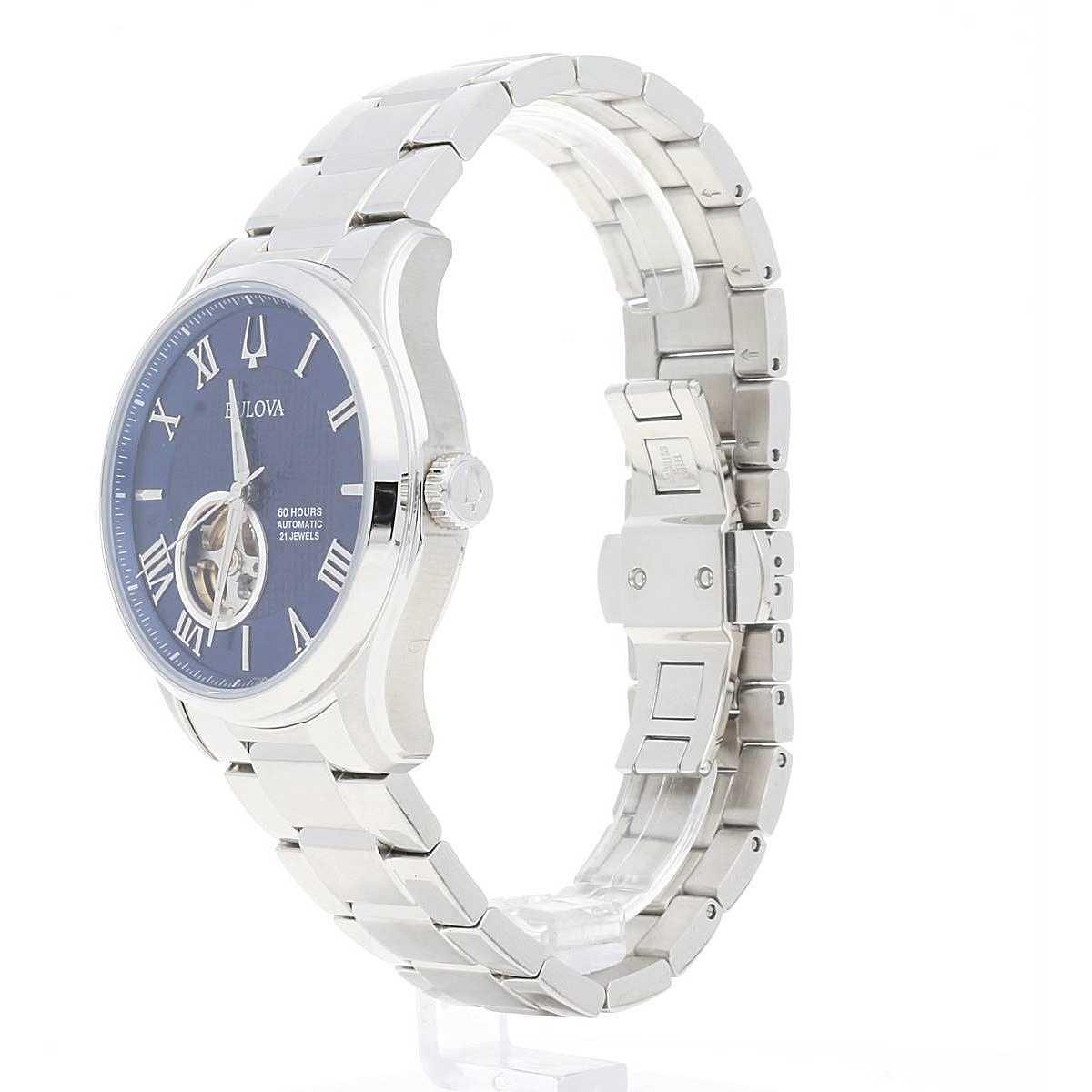 f24816a59 watch only time man Bulova Automatic Wilton 96A218 only time Bulova