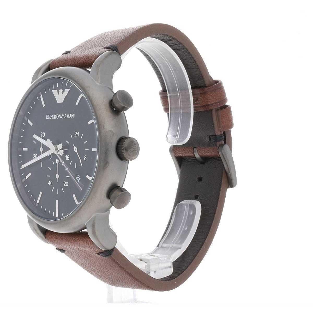 online hier online zu verkaufen stabile Qualität watch chronograph man Emporio Armani AR1919 chronographs ...