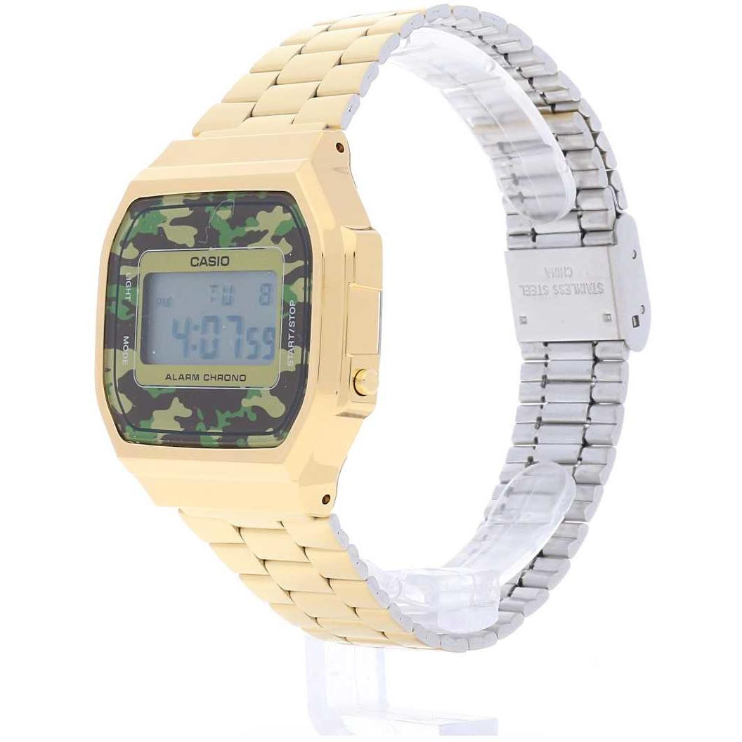 sale watches unisex Casio A168WEGC-3EF