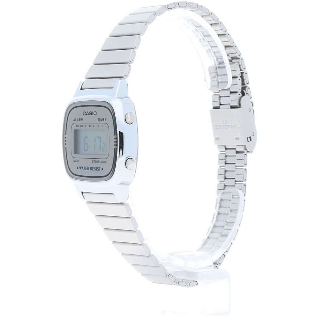 vendita orologi donna Casio LA670WEA-7EF