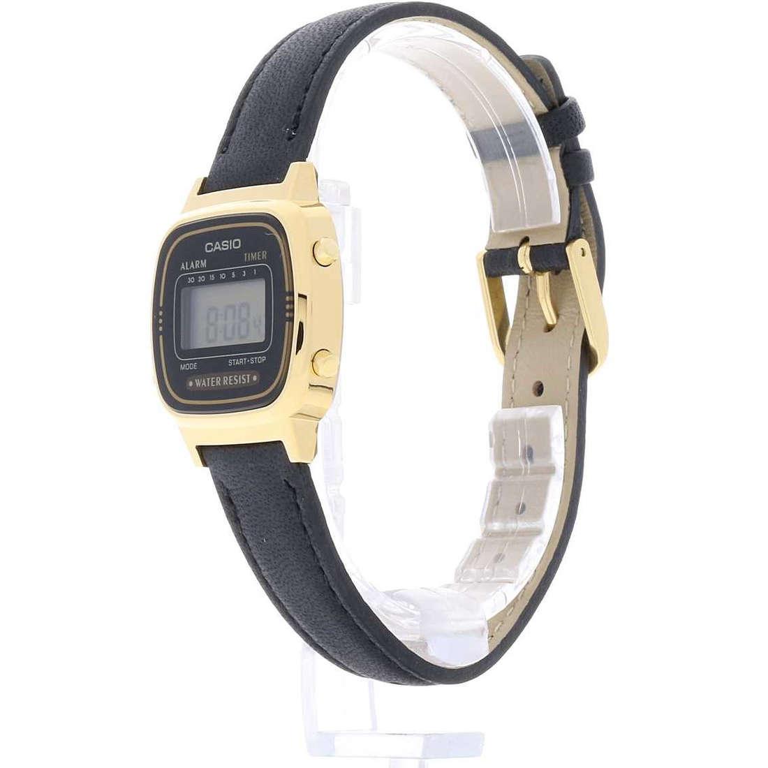 vendita orologi donna Casio LA670WEGL-1EF