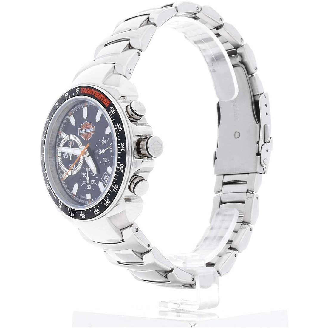 vendita orologi uomo Harley Davidson 78B113
