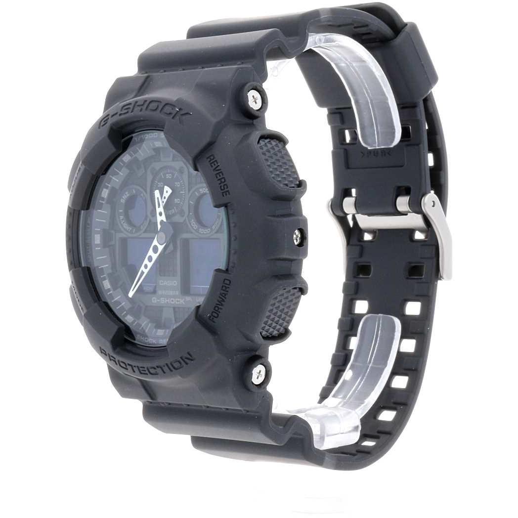 vente montres homme Casio GA-100-1A1ER