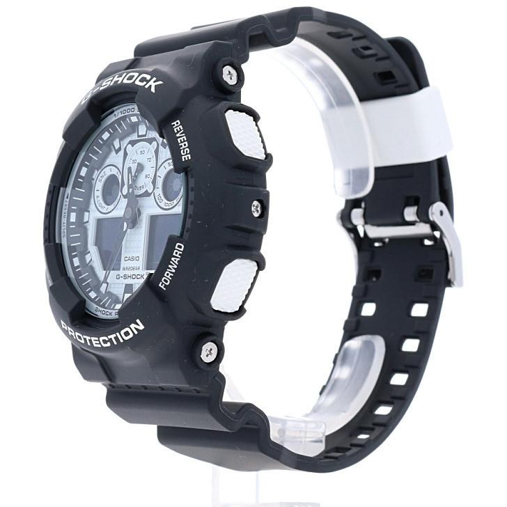 vente montres homme Casio GA-100BW-1AER
