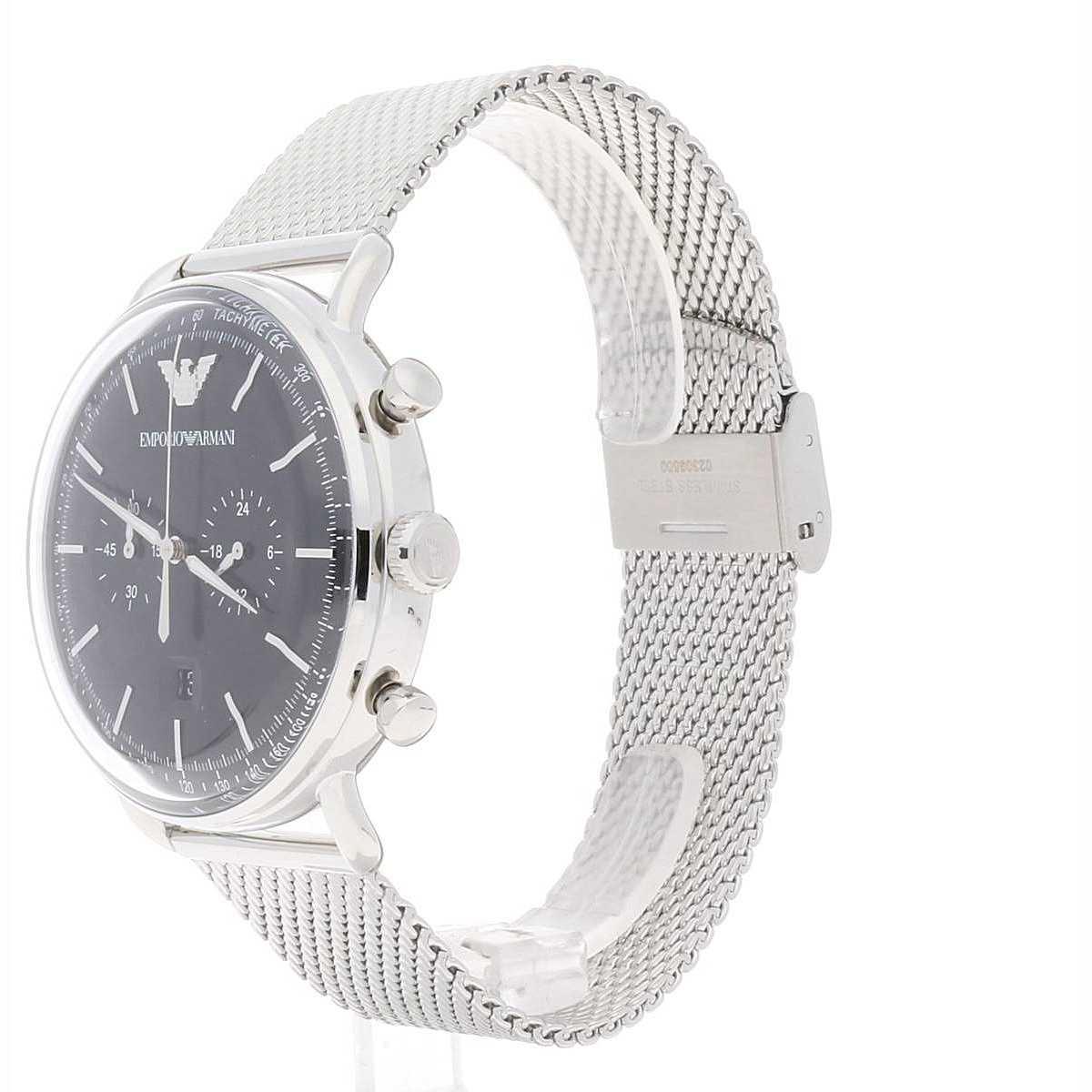 e006536a4c7b0 montre chronographe homme Emporio Armani AR11104 chronographes ...