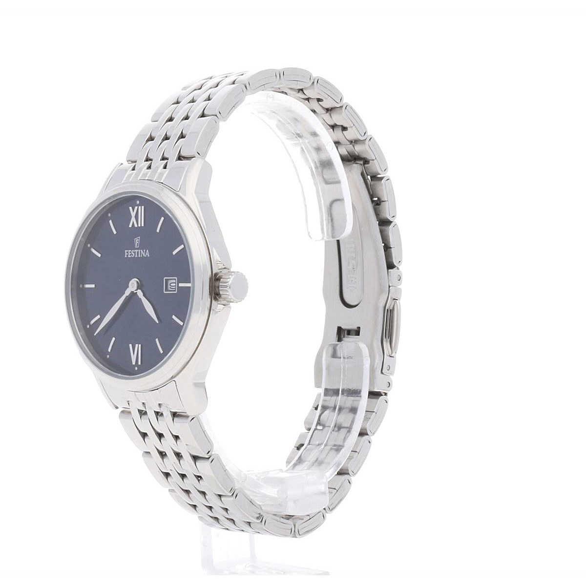 Uhr Frau Clasico Acero Nur Zeit F167483 Festina yf7b6g