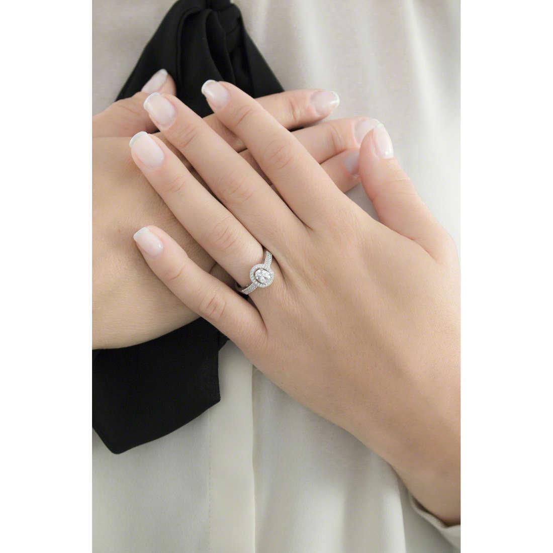 Ambrosia anelli donna AAA 019 S indosso