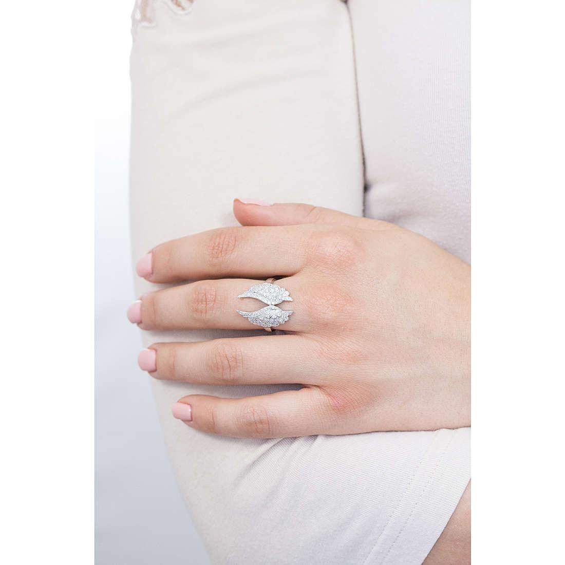 b2077eafa30450 anello donna gioielli Amen Angeli RWH2-18 anelli Amen