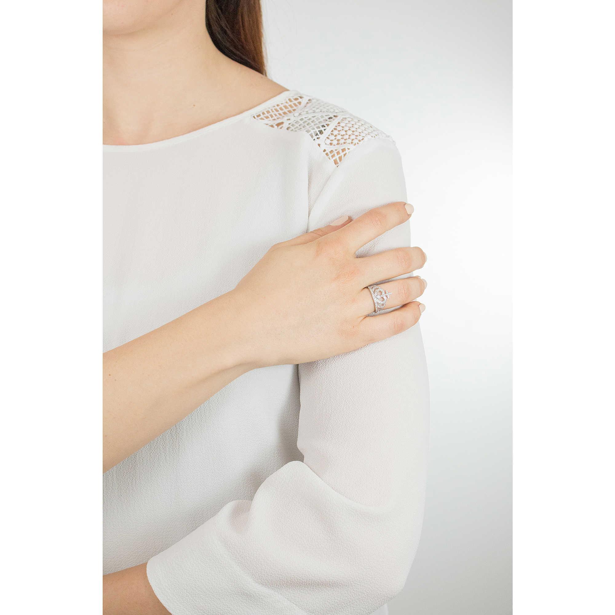 c216a502fbf5ef anello donna gioielli Amen Corone AC2-12 anelli Amen