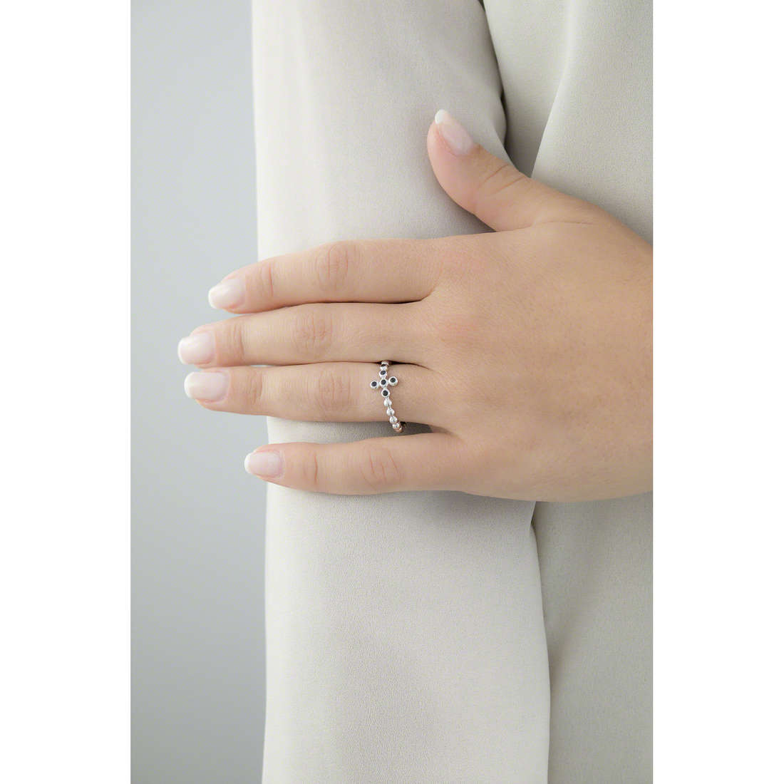 Amen anelli Croce donna ABOBN-14 indosso