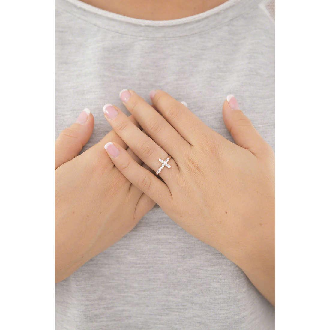 Amen anelli Croce donna ACORB-10 indosso