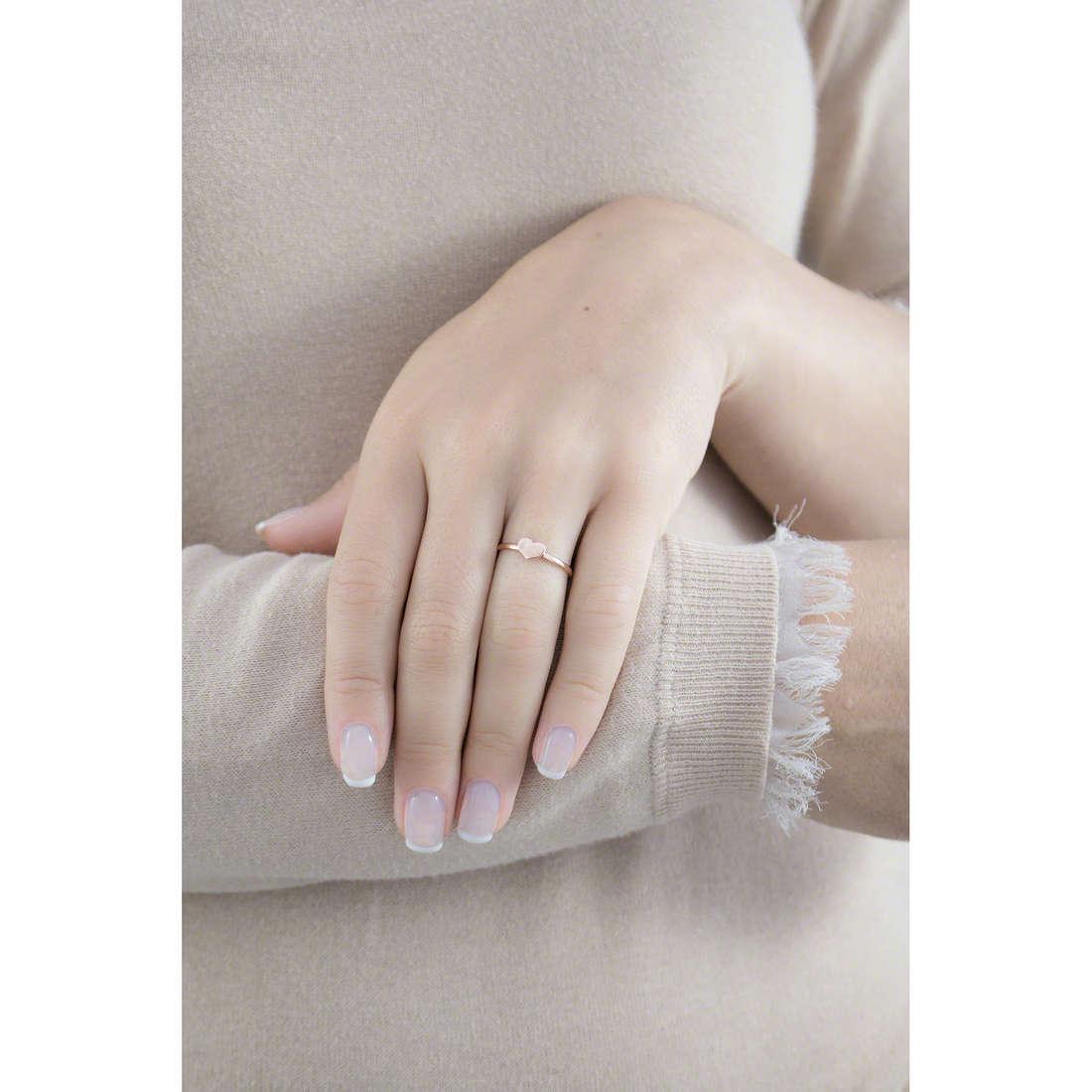 Amen anelli Cuore donna AFHR indosso