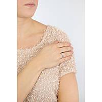 anello donna gioielli Amen Rosario AROBBL-14