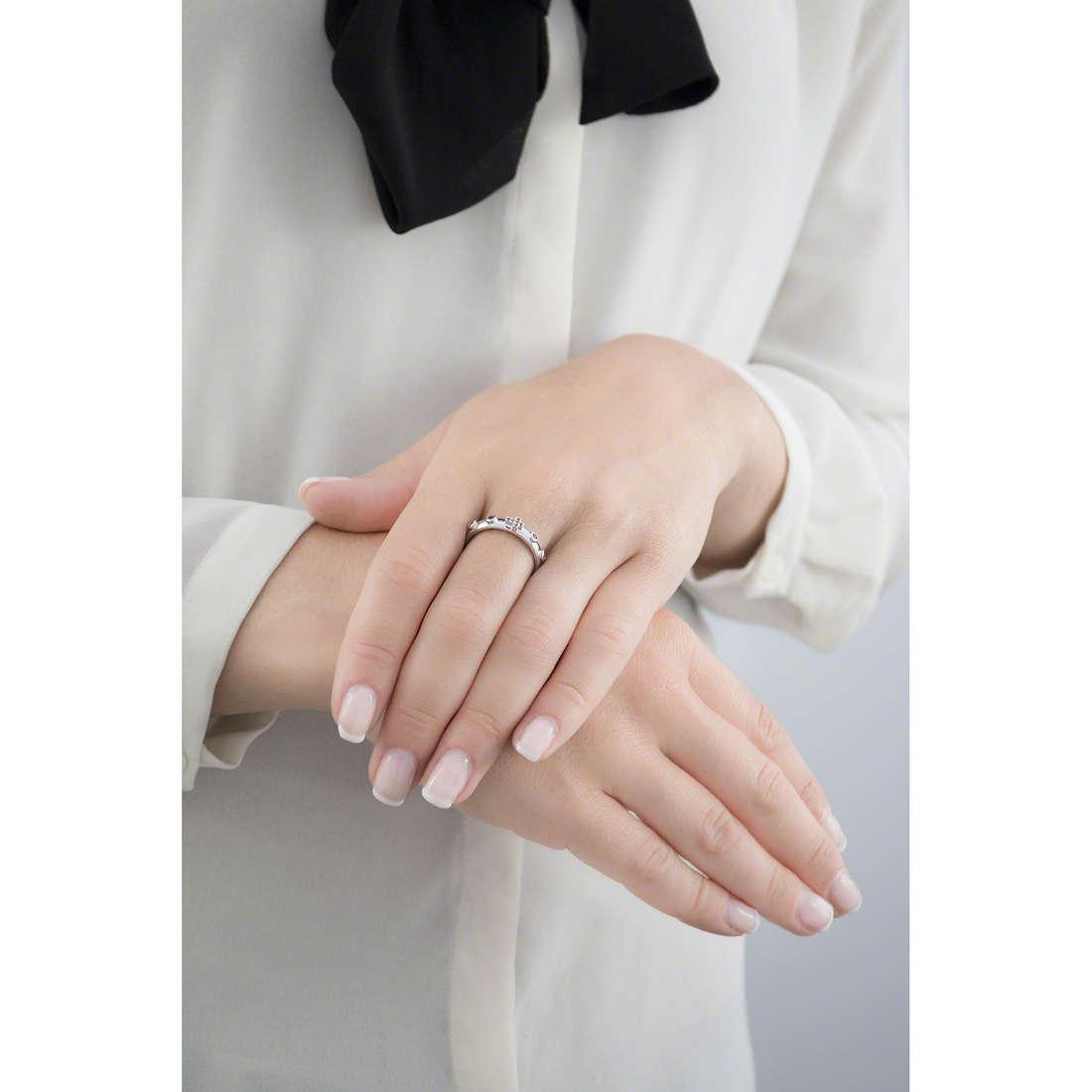Amen anelli Rosario donna AROBR-20 indosso