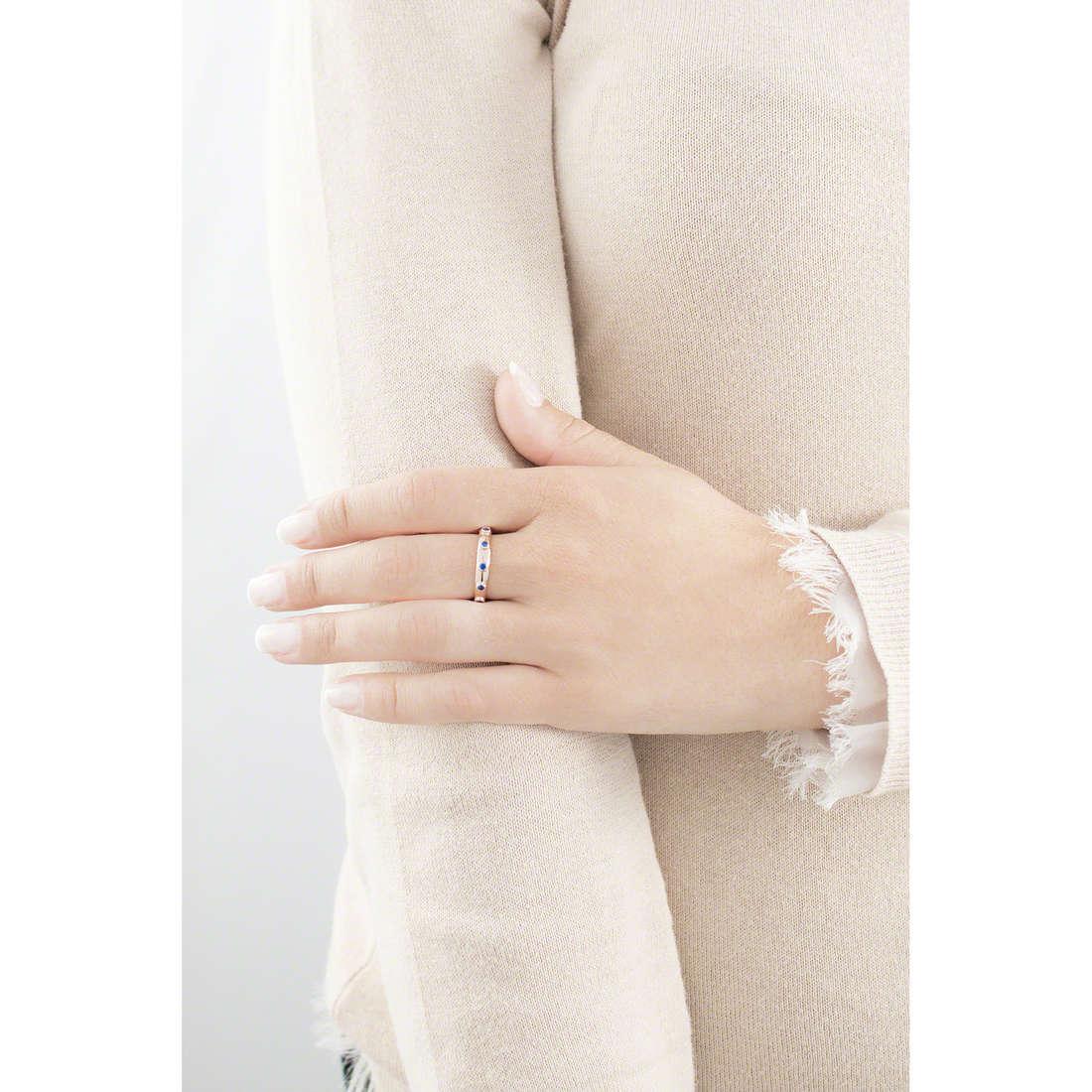 Amen anelli Rosario donna ARORBL-12 indosso