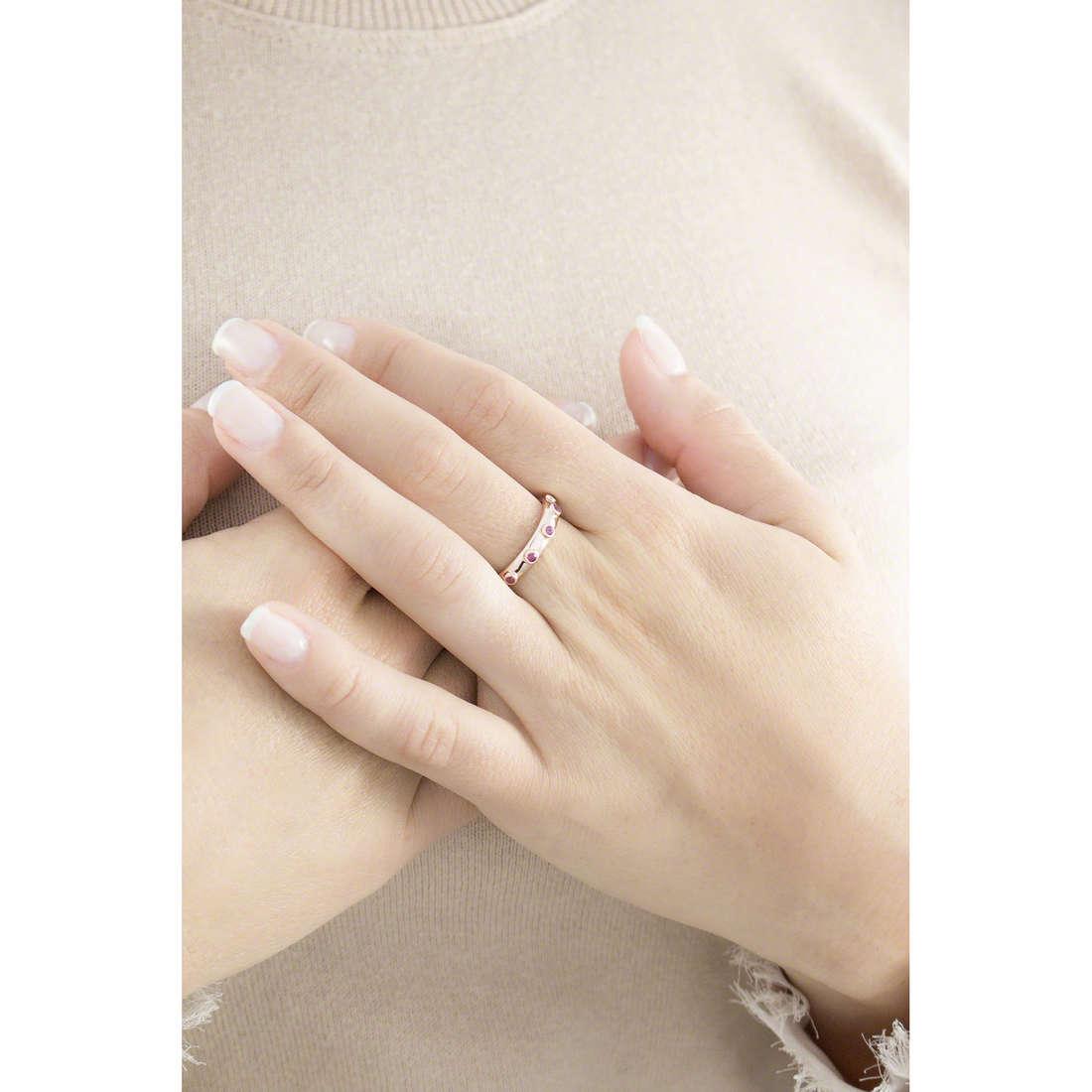 Amen anelli Rosario donna ARORR-10 indosso