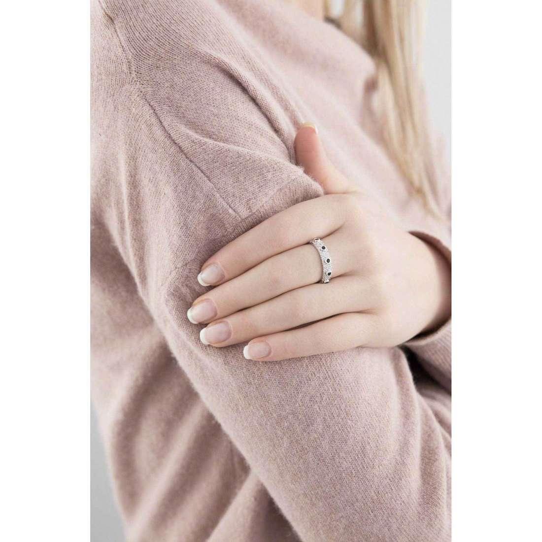Amen anelli Rosario donna AROZBN-18 indosso