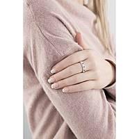 anello donna gioielli Amen Rosario AROZBN-22