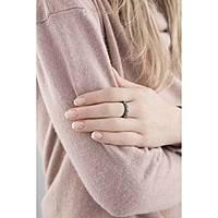 anello donna gioielli Amen Rosario AROZNB-16