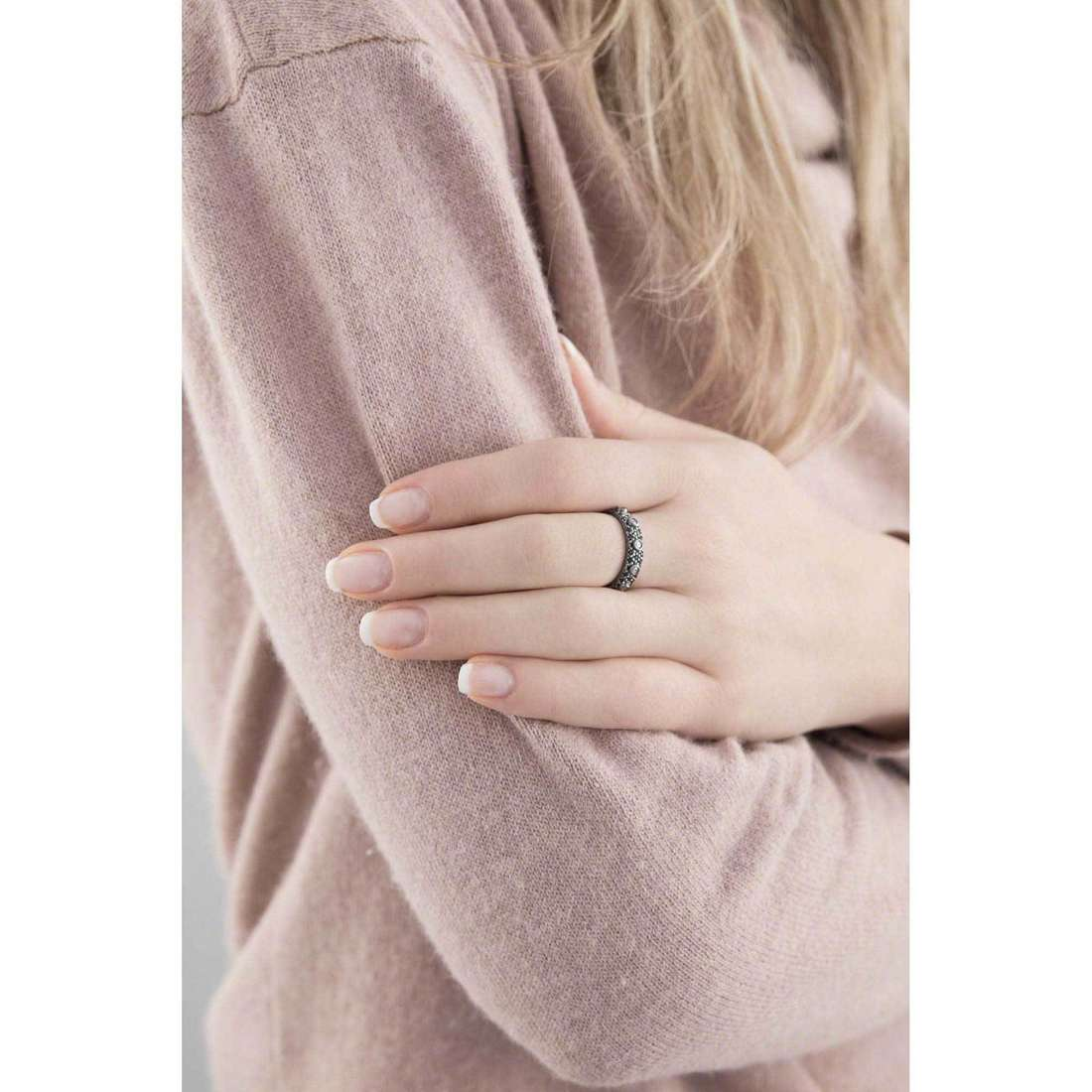 Amen anelli Rosario donna AROZNB-22 indosso