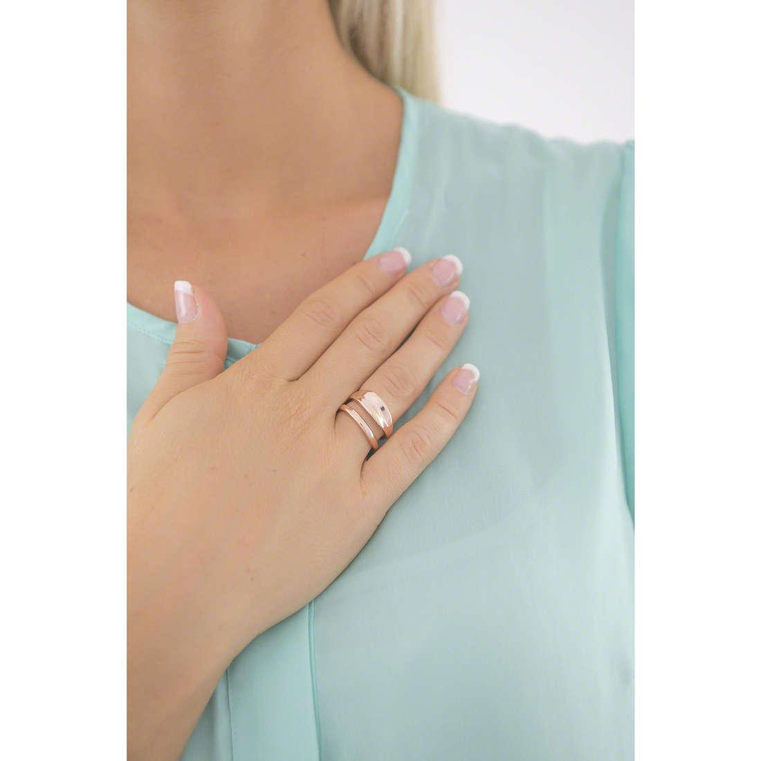 Breil anelli donna TJ1969 indosso