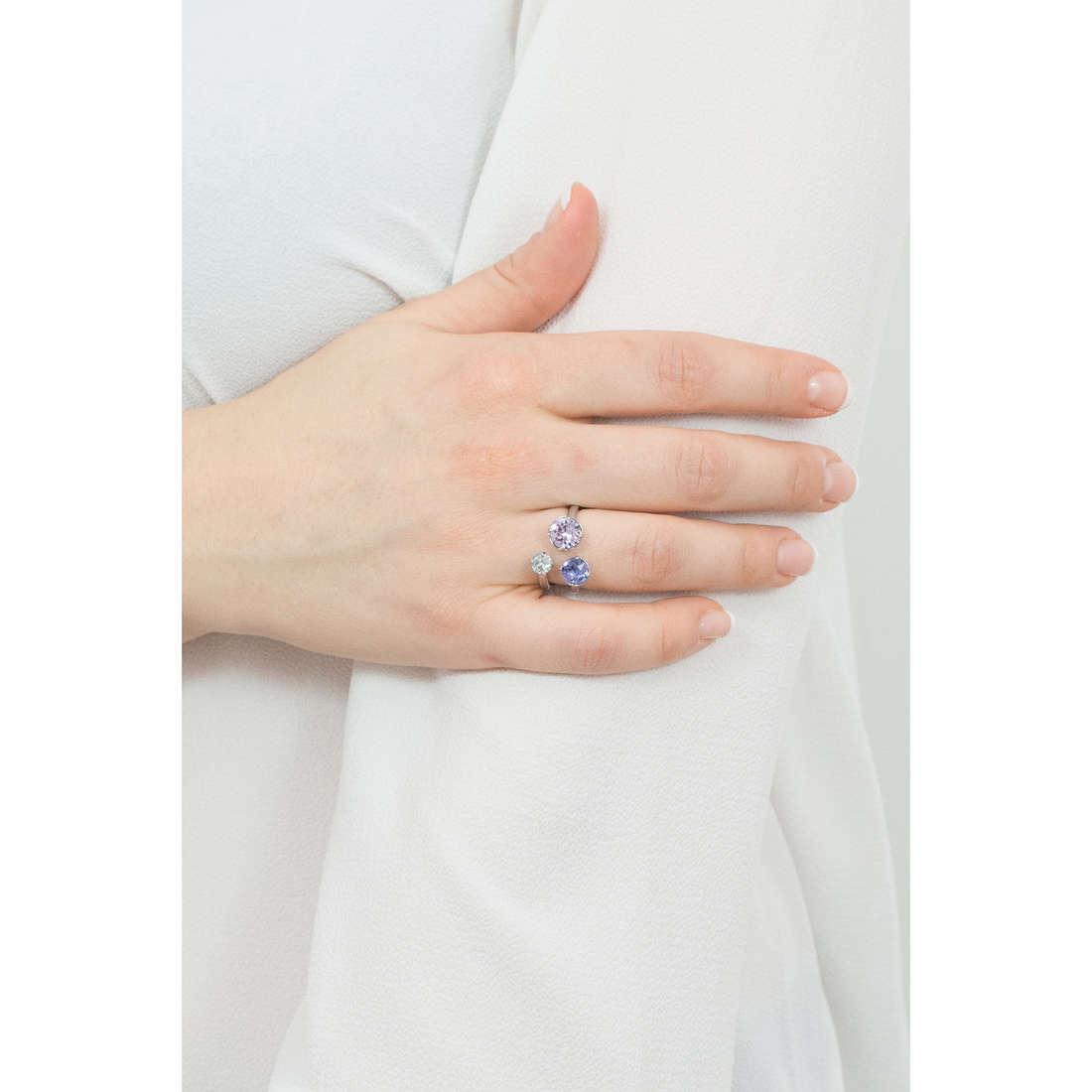 Brosway anelli Affinity donna BFF36B indosso