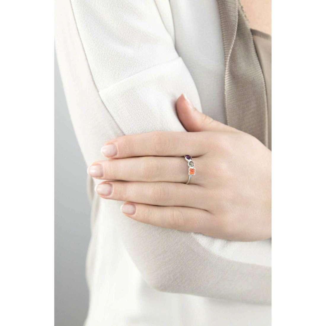Brosway anelli COLORI donna G9CL32A indosso