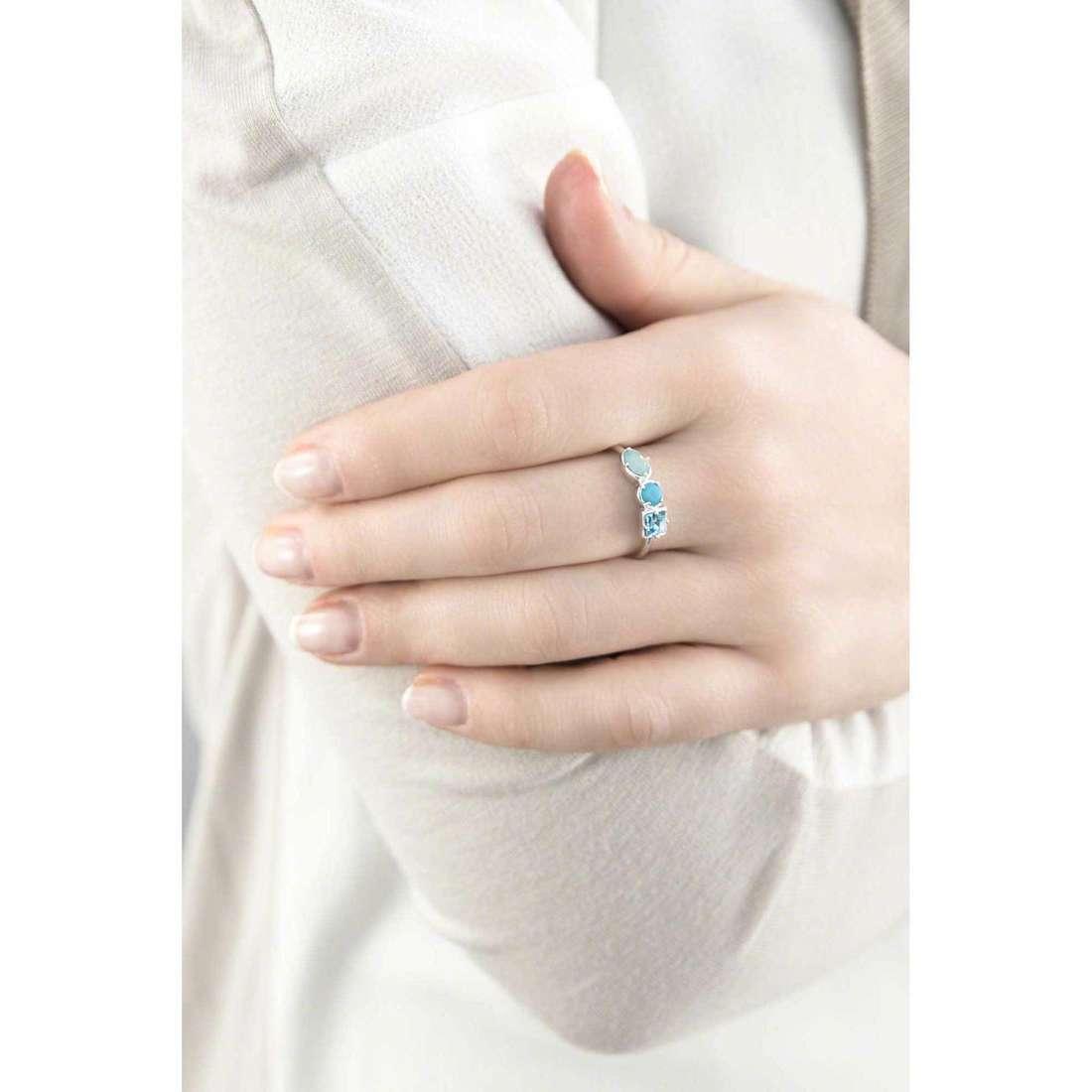 Brosway anelli COLORI donna G9CL33A indosso