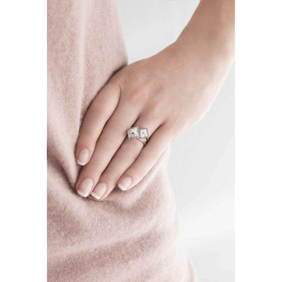 Brosway anelli Polar donna BPL31B indosso