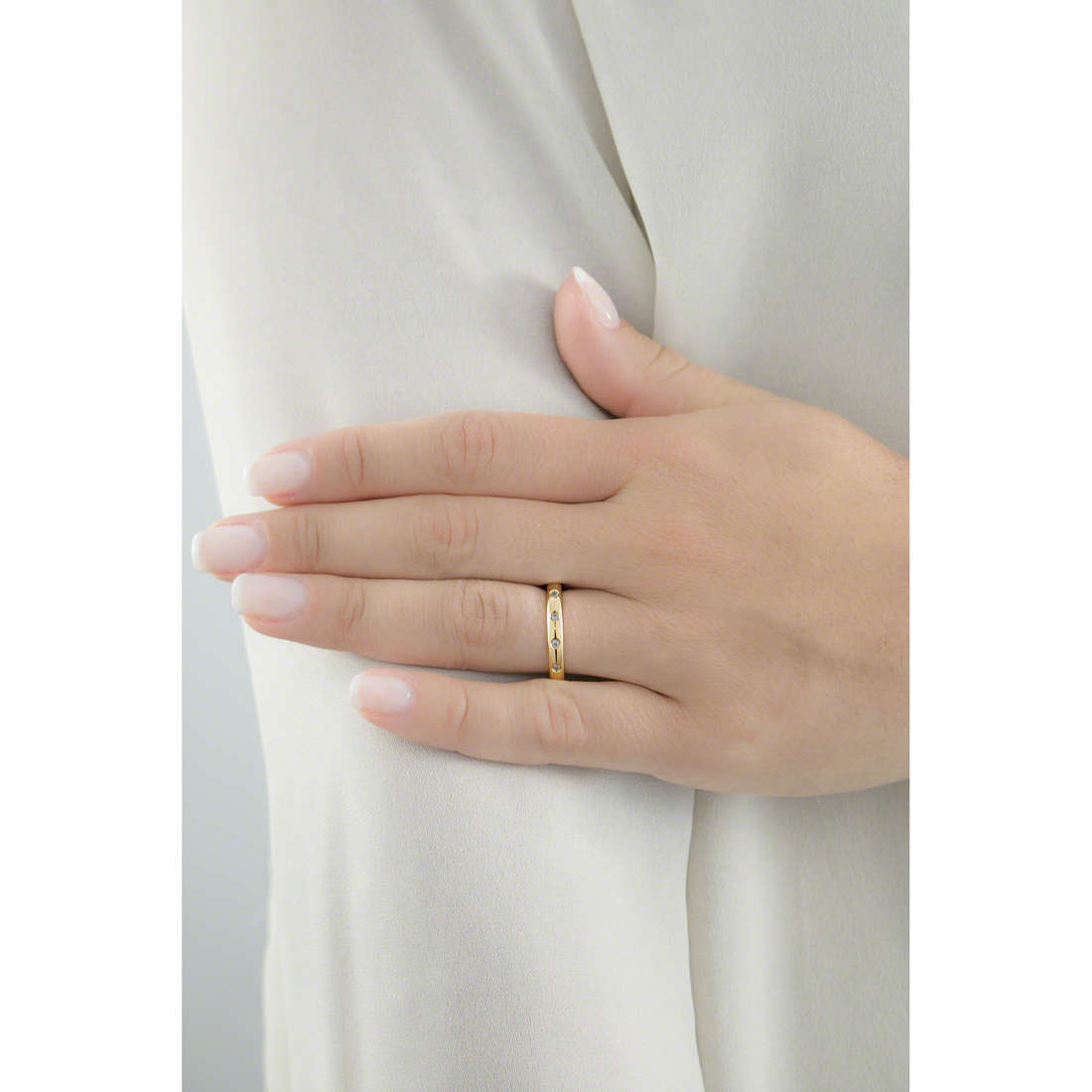 Brosway anelli Tring donna BTGC122D indosso