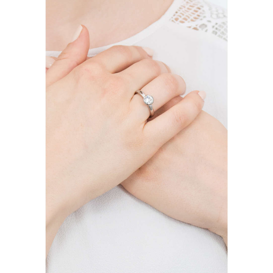 Brosway anelli Tring donna BTGC31B indosso