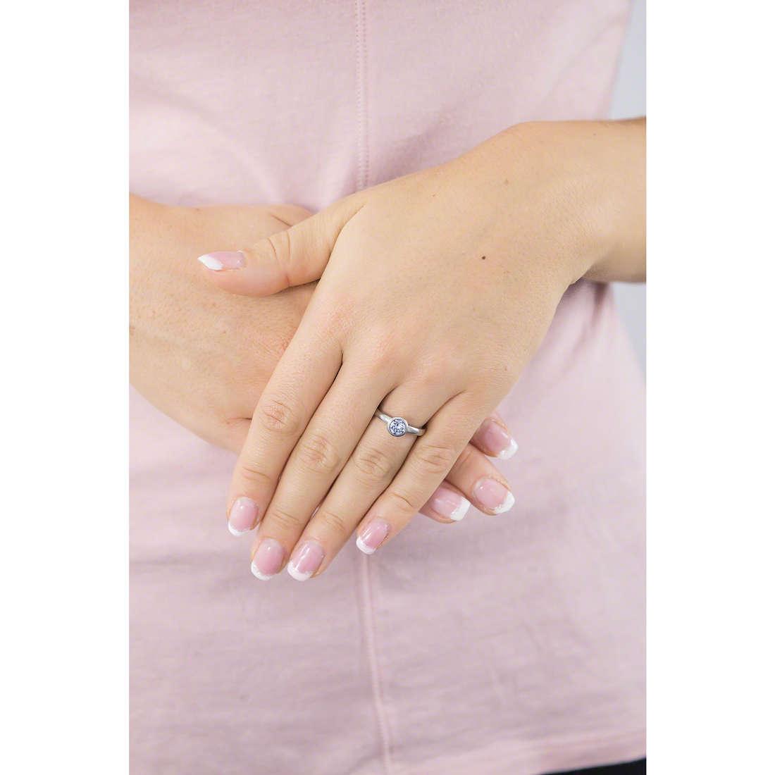 Brosway anelli Tring donna BTGC37A indosso