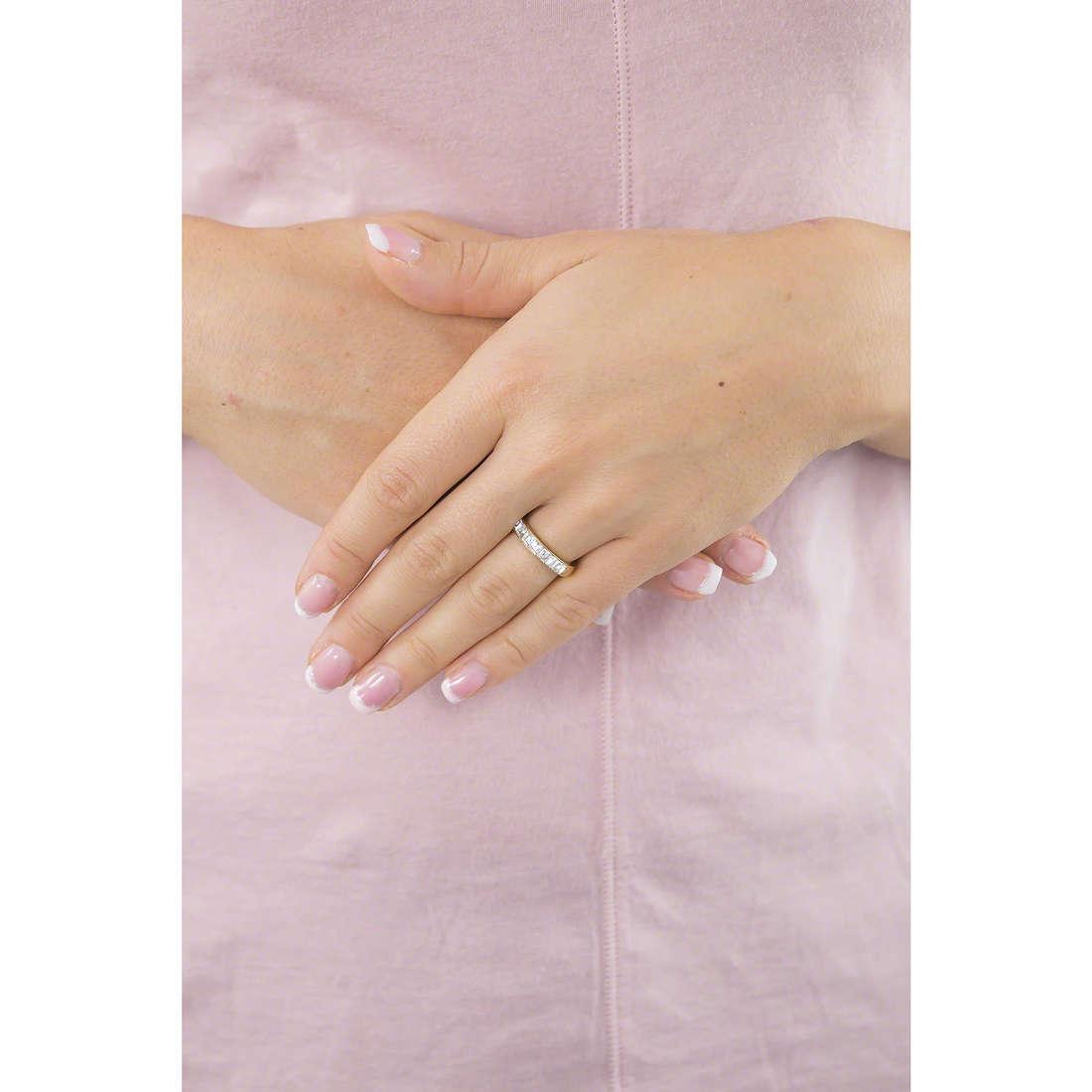 Brosway anelli Tring donna BTGC46B indosso