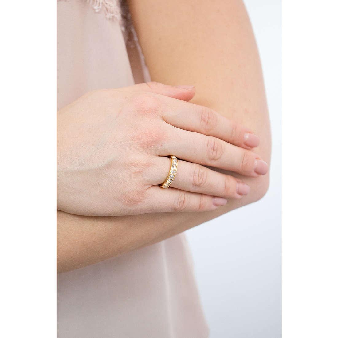 Brosway anelli Tring donna BTGC50B indosso