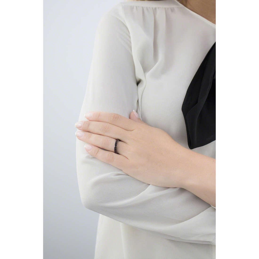 Brosway anelli Tring donna BTGC52B indosso