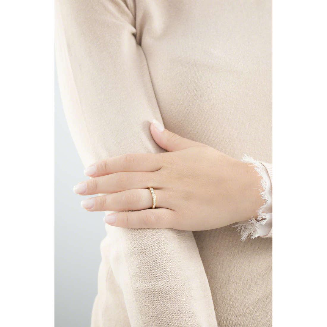 Brosway anelli Tring donna BTGC57C indosso