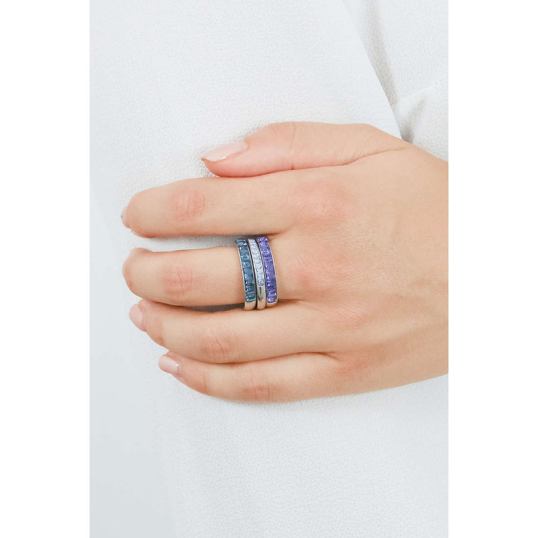 Brosway anelli Tring Segno Zodiacale donna BTGZ09A indosso