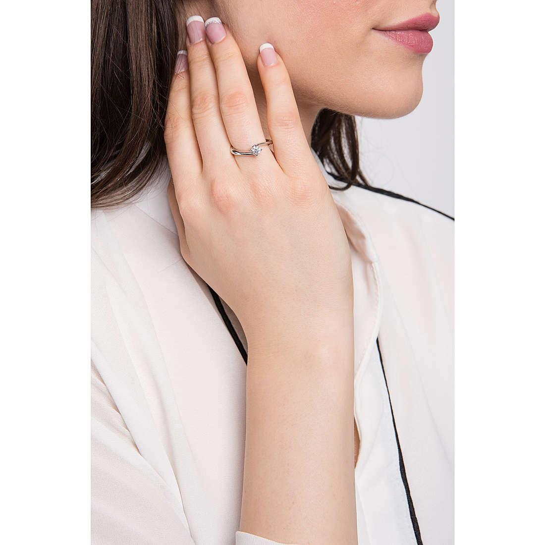 Comete anelli donna ANB 1922 indosso