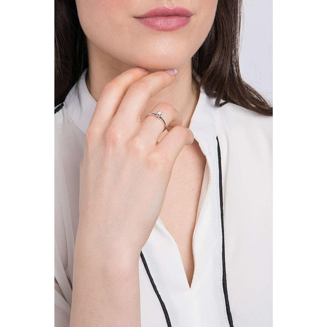Comete anelli donna ANB 2084 indosso