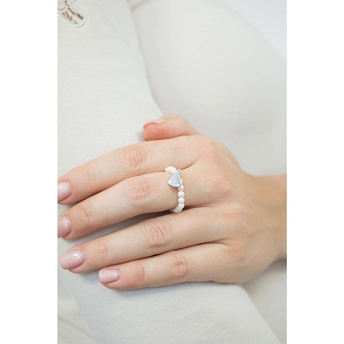 Comete anelli Cherie donna ANP 373 indosso