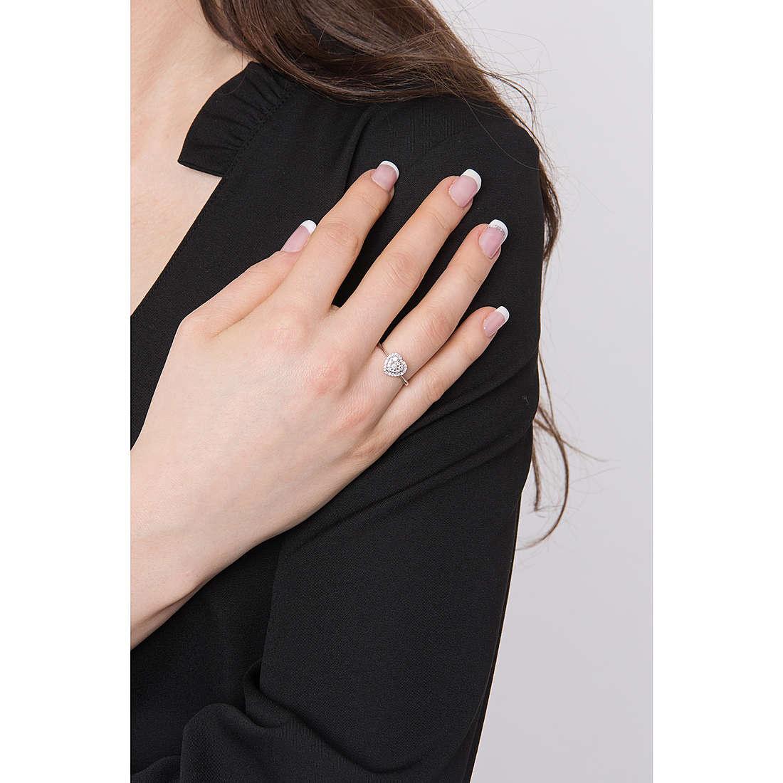 Comete anelli Fenice donna ANB 1910 indosso