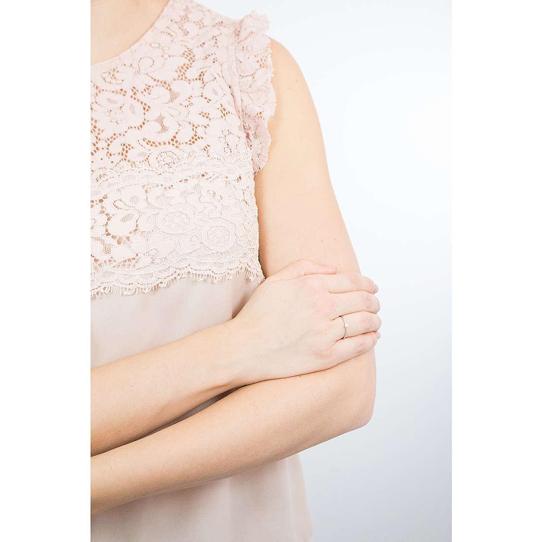 Comete anelli Easy Basic donna ANB 1675 indosso