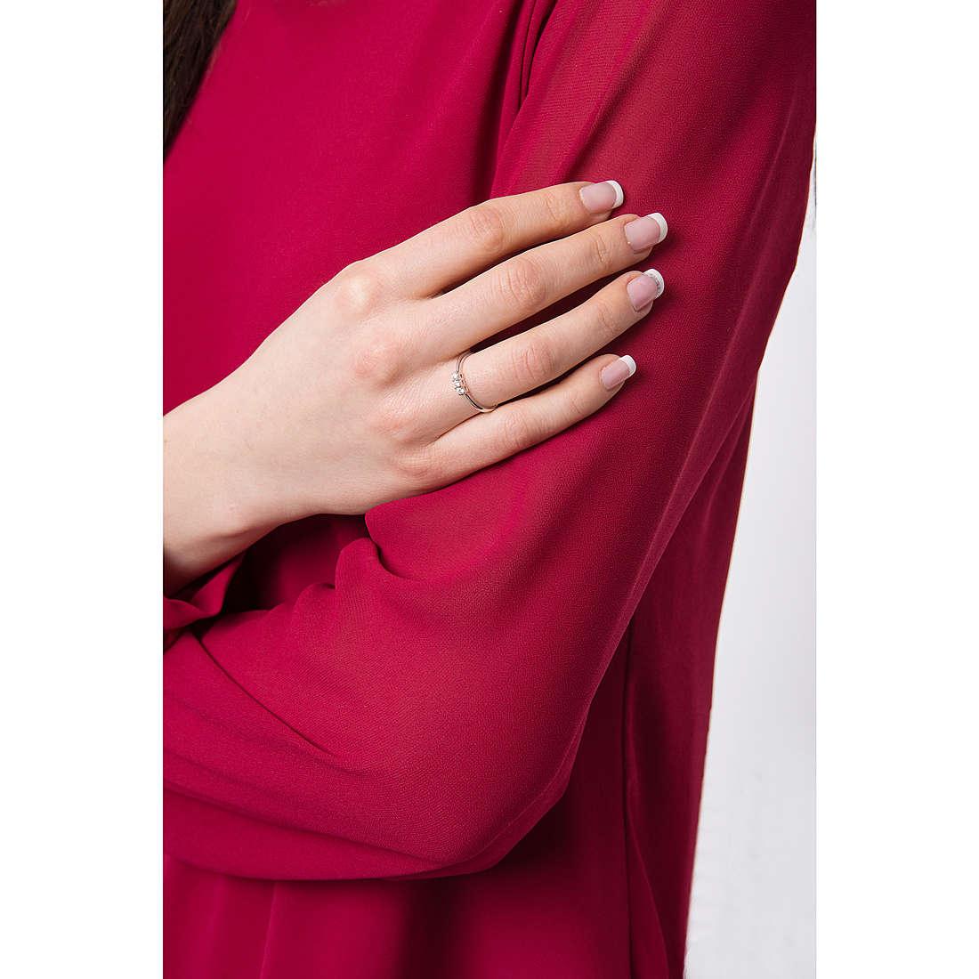 Comete anelli Easy Basic donna ANB 1687 indosso