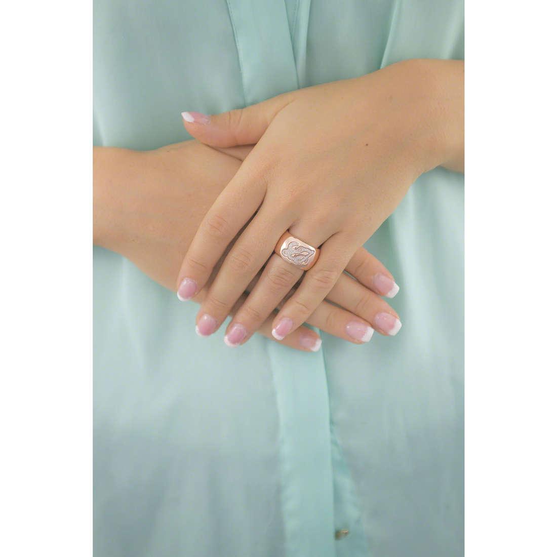 Liujo anelli Destini donna LJ890 indosso