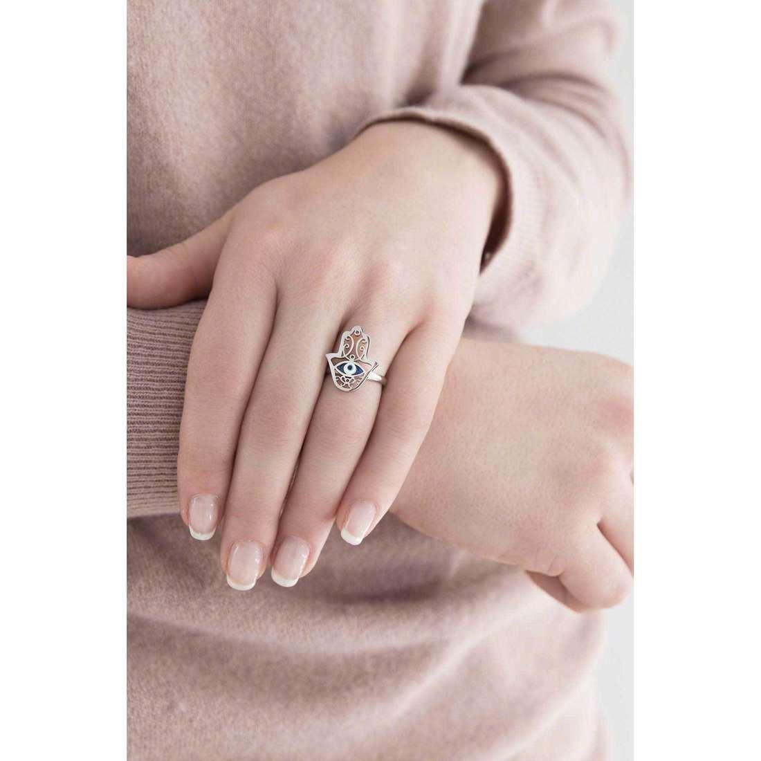 Marlù anelli Segni donna 14AN035-M indosso