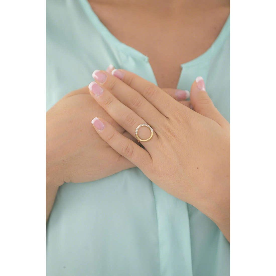 Michael Kors anelli donna MKJ5857710506 indosso