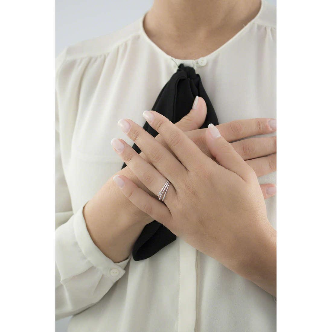 Morellato anelli 1930 Michelle Hunziker donna SAHA14014 indosso