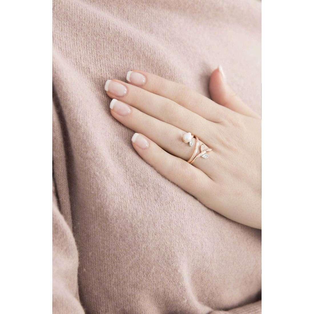 Morellato anelli Gioia donna SAER15014 indosso