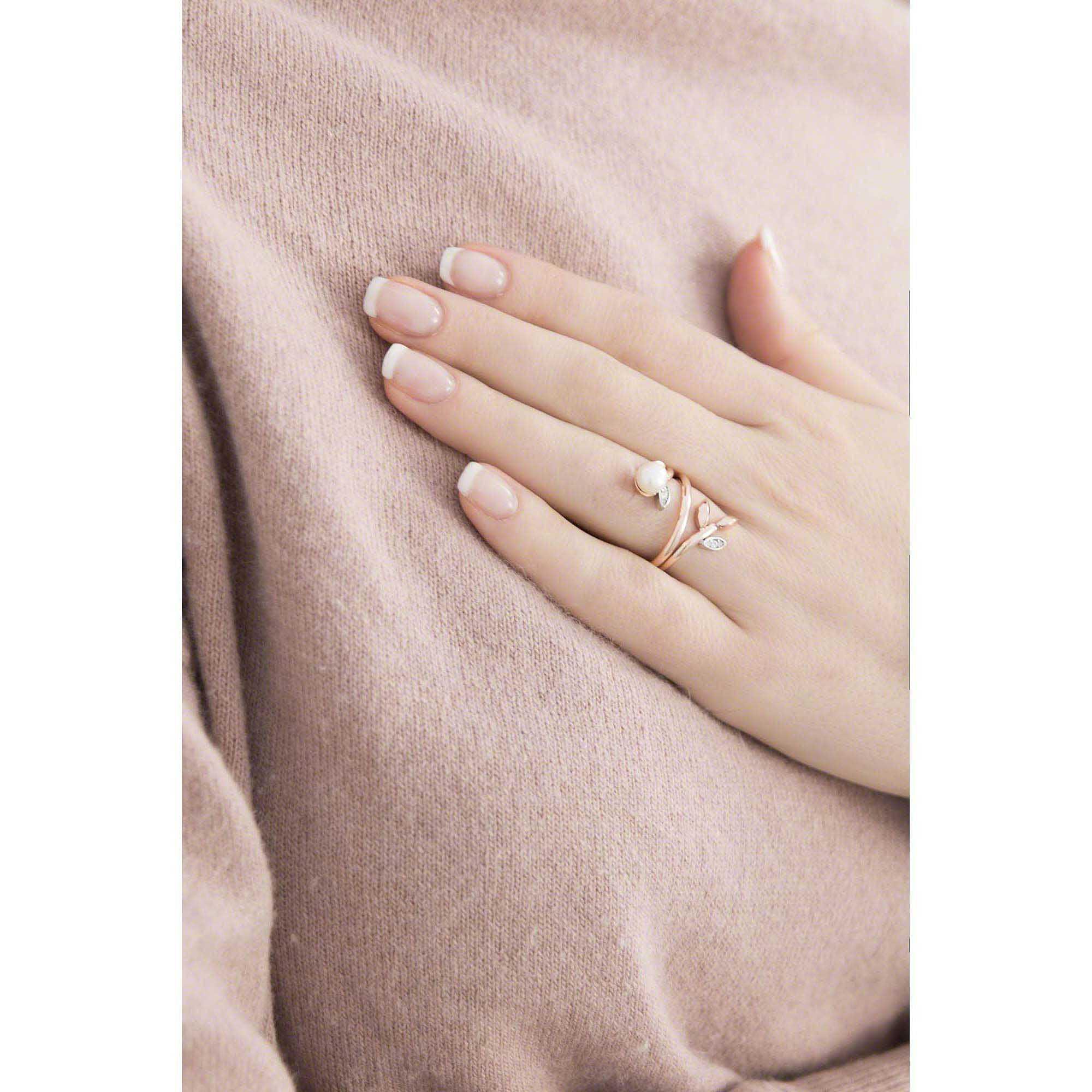 anello morellato con perla